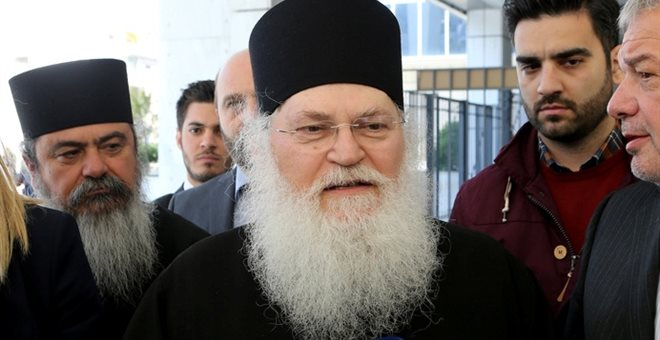Καλά στην υγεία του ο ηγούμενος της Μονής Βατοπεδίου Εφραίμ μετά το τροχαίο