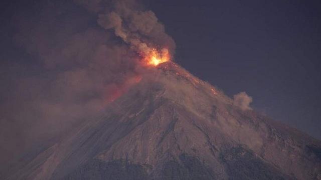 Γουατεμάλα: Τερματίστηκε η φάση της έκρηξης του ηφαιστείου Φουέγο