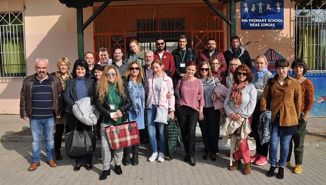 Είκοσι εκπαιδευτικοί από επτά χώρες στη Νέα Ιωνία