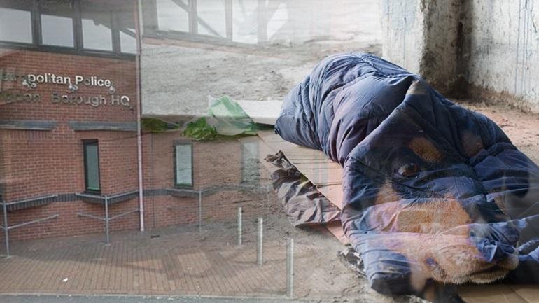 Έλληνας άστεγος στο Λονδίνο πεθαίνει περιμένοντας τον σκύλο του