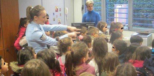 Μαθητές ξεναγήθηκαν στο Αστυνομικό Μέγαρο Λάρισας
