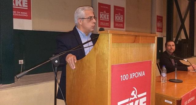 Ν. Σοφιανός στον Βόλο: Το ΚΚΕ θα βγει ενισχυμένο στις εκλογές
