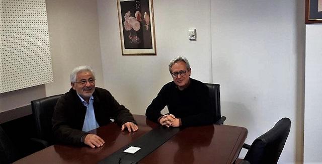 Συνάντηση Ν. Ντίτορα και Νέστορα Αντωνίου
