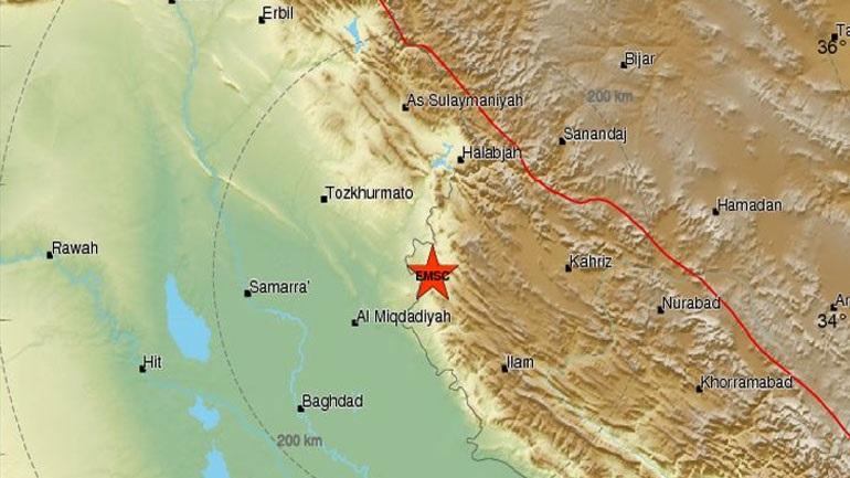 Ιράν: Τουλάχιστον 115 τραυματίες από τη σεισμική δόνηση των 6,4R
