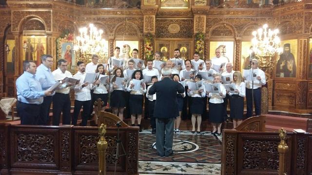 Στην Κατερίνη η χορωδία της Σχολής Βυζαντινής Μουσικής