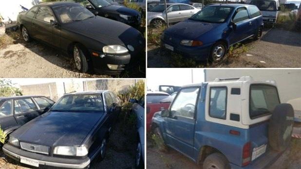 Δημοπρασία οχημάτων στη Λάρισα, με τιμές από 250 ευρώ