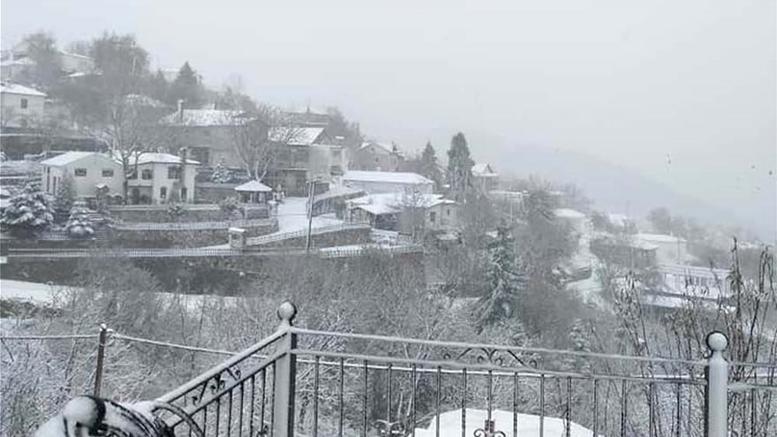 Πηνελόπης... έργα: Χιόνια, κρύο, πλημμύρες και μποφόρ [φωτό]