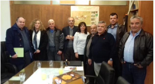 Συνάντηση της Διοίκησης του ZAΓΟΡΙΝ με αντιπροσωπεία του ΚΙΝ.ΑΛ.
