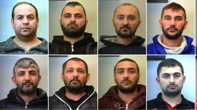Τα 10 μέλη σπείρας που έκλεβε φορτηγά με εμπορεύματα