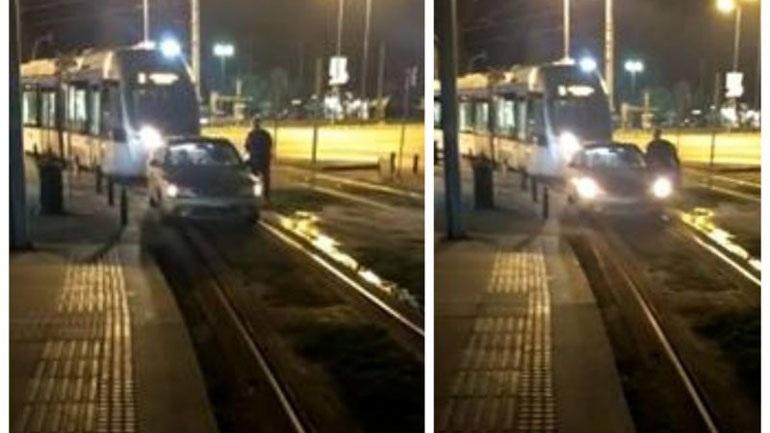 Γλυφάδα: Παράτησε το αυτοκίνητο πάνω στις γραμμές του τραμ για να πάει στο ΑΤΜ