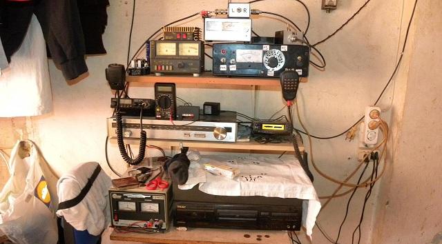 Πλήρες σύστημα ραδιοερασιτέχνη και ναρκωτικά κατείχε Βολιώτης