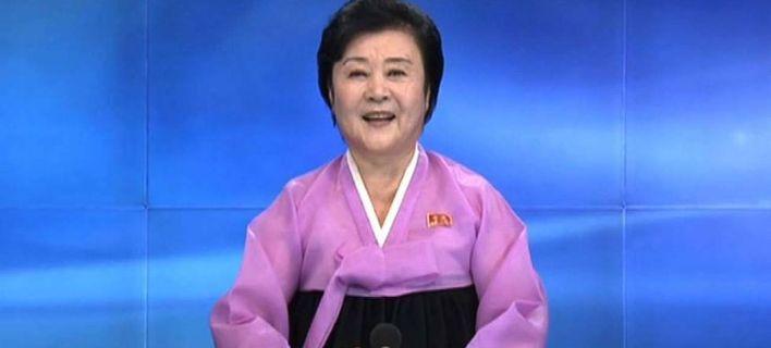 Βόρεια Κορέα: Στη... σύνταξη στέλνει ο Κιμ Γιονγκ Ουν τη θρυλική εθνική τηλεπαρουσιάστρια