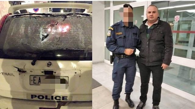 Ένωση Αστυνομικών για επίθεση στο σπίτι του Φλαμπουράρη: Άνανδρη επίθεση, τραυματίστηκε συνάδελφός μας