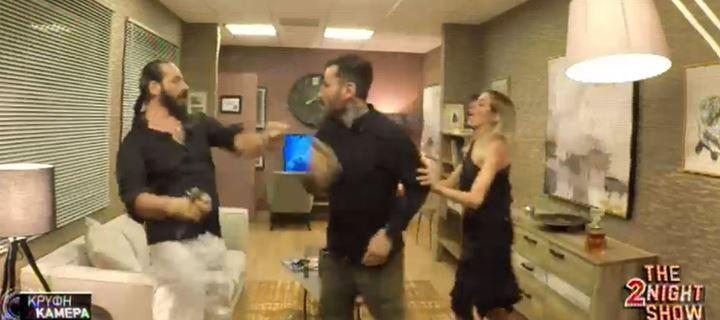 Η απίστευτη φάρσα στον Γιώργο Μαυρίδη στα παρασκήνια του «The 2Night Show»