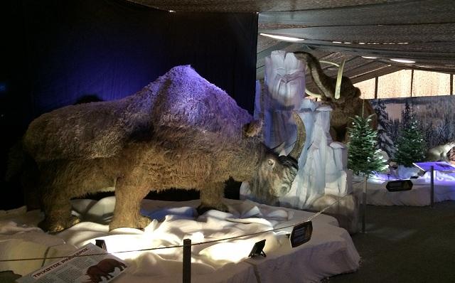 4.000 επισκέπτες από τις πρώτες ημέρες στο πάρκο «Η Εποχή των Παγετώνων»