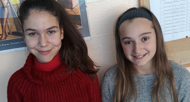 Σημαντική διάκριση δύο μαθητριών του Γυμνασίου Νέας Αγχιάλου