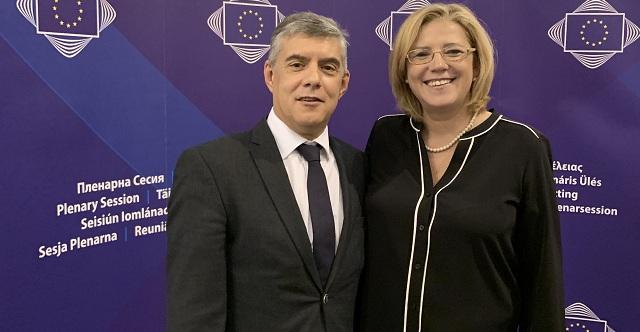 Κ. Αγοραστός στις Βρυξέλλες: «Ας γίνουμε η αλλαγή που θέλουμε να δούμε»