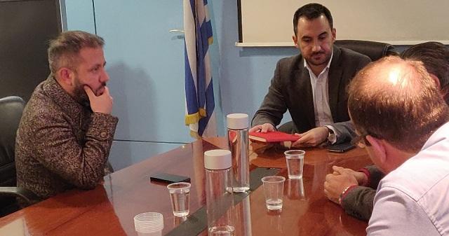 Συνάντηση στο Υπουργείο Εσωτερικών για τη στελέχωση του Δήμου Αλοννήσου