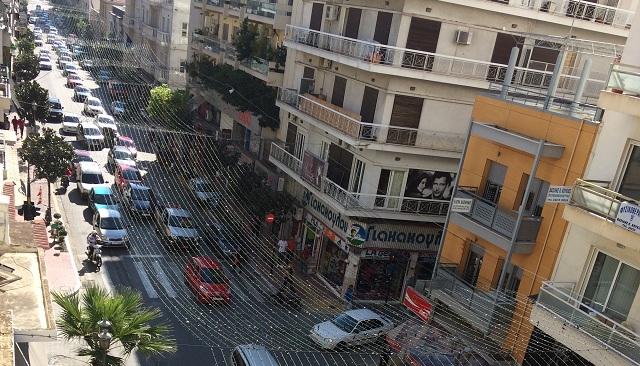 Δυσαρέσκεια εμπόρων για το κυκλοφοριακό χάος στο κέντρο του Βόλου