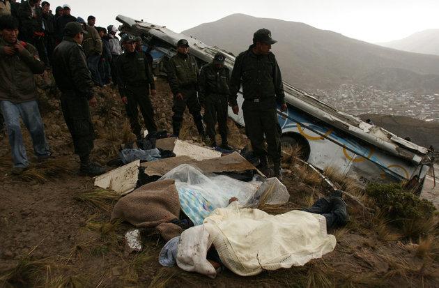Τουλάχιστον 17 νεκροί μετά από σύγκρουση λεωφορείων σε αυτοκινητόδρομο στη Βολιβία