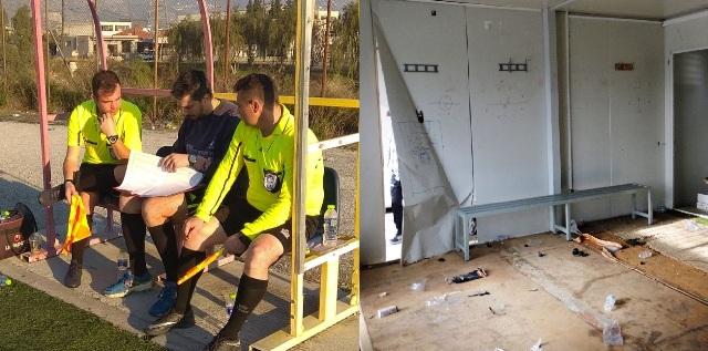 Τραγικές συνθήκες στο γήπεδο Δημητριάς