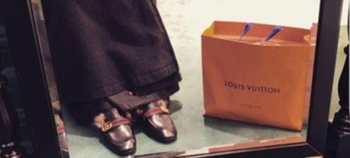 Ο παππάς με τα Gucci και τα Louis Vuitton που προκάλεσε σάλο [εικόνες]