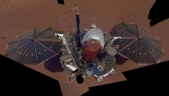Σέλφι από τον… Άρη δημοσιοποίησε η NASA