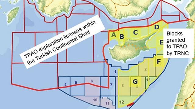 Οι χάρτες των σημείων που θα ερευνήσει το Barbaros
