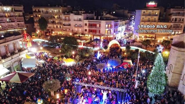 Λεηλάτησαν δημοτικό χριστουγεννιάτικο δέντρο στο Άργος