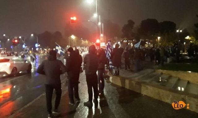 Κλειστή η παραλιακή στη Θεσσαλονίκη –Σε εξέλιξη οι διαμαρτυρίες για τον Αλέξη Τσίπρα