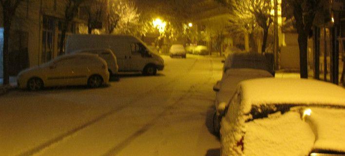 Πυκνό χιόνι στην Κοζάνη: Σε ετοιμότητα η πολιτική προστασία, κλειστά σχολεία [εικόνες]