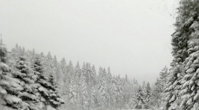 Μέχρι και 70 πόντους το χιόνι στα ορεινά του νομού Tρικάλων