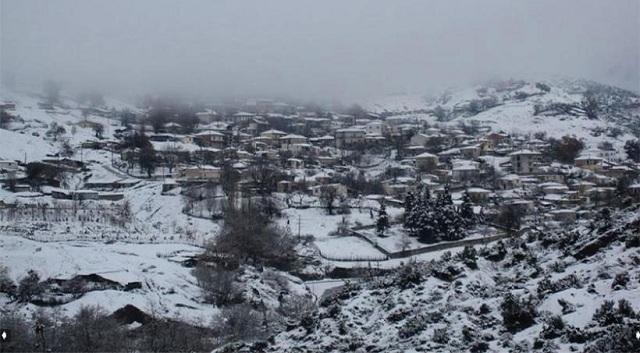 Χιόνι χθες στην Ανάβρα