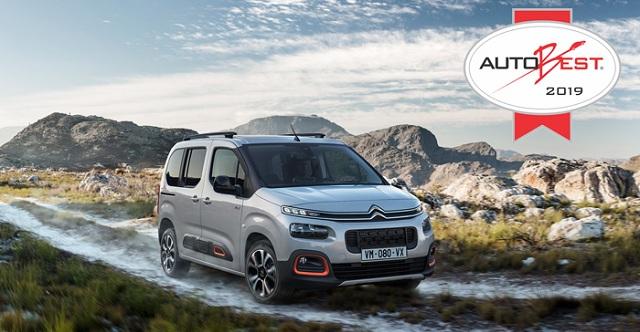 Στο νέο Citroën Berlingo το βραβείο του «Καλύτερου Αυτοκινήτου για την Ευρώπη»