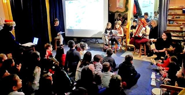 Γιόρτασαν τα Χριστούγεννα τα παιδιά του ΚΔΑΠ Αμπελοκήπων