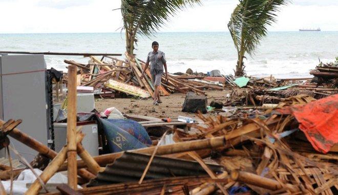 Ινδονησία: Η στιγμή που το τσουνάμι χτυπά συναυλία