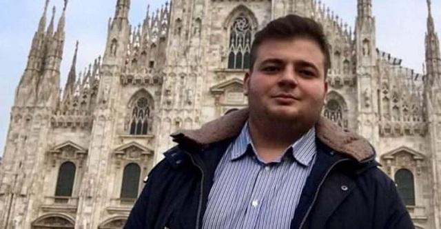 Κηδεύεται ο 21χρονος Σάββας Παπαλαγάρας που σκοτώθηκε σε τροχαίο στη Λάρισα