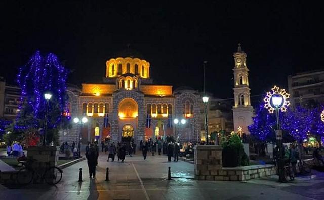 Ακολουθίες των Χριστουγέννων στην Μητρόπολη Δημητριάδος
