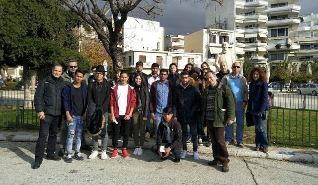 Εκπαιδευτικός περίπατος γνώσης για τους πρόσφυγες δομών του Βόλου