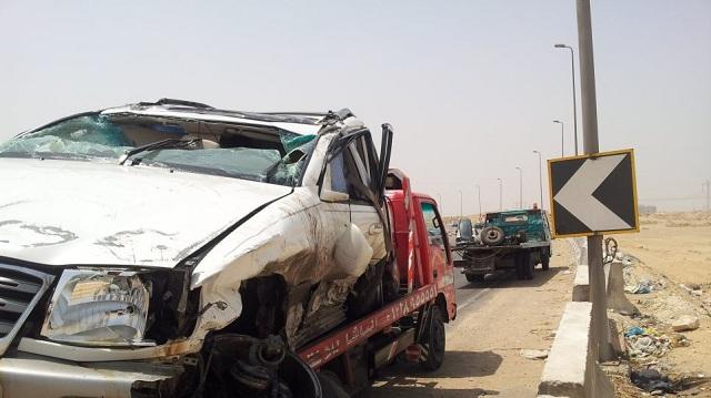 Οκτώ νεκροί και τέσσερις τραυματίες σε τροχαίο στη βόρεια Αίγυπτο