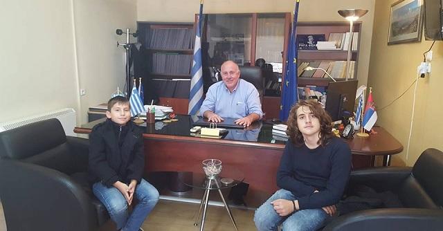 Δημήτρης Νασίκας: Ο Δήμος Ρ. Φεραίου τιμά παιδιά πρότυπο
