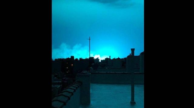 Αναστάτωση στη Νέα Υόρκη από τον... μπλε ουρανό: Νόμιζαν ότι ήταν εξωγήινοι [εικόνες]