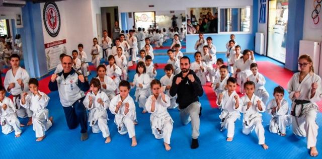 Προαγωγικές εξετάσεις βαθμών Kyu στον «Μαχητή»