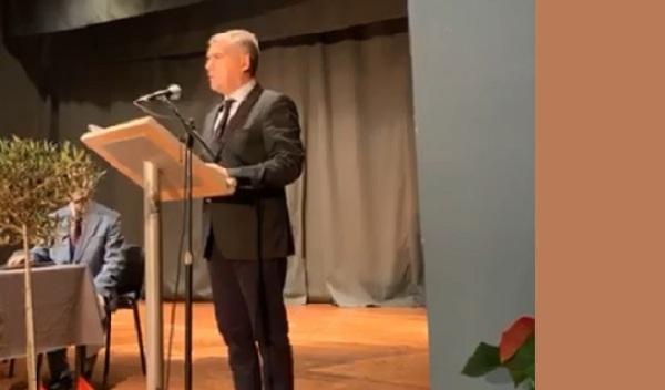 Κ. Αγοραστός από Τύρναβο: «Όταν κινδυνεύει η πίστη, απειλείται κι ο πατριωτισμός»