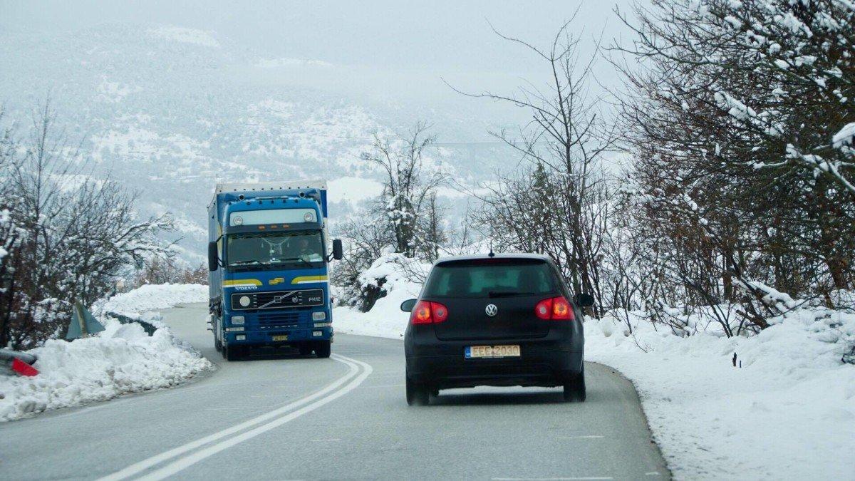 Οδηγίες για οδήγηση στο χιόνι