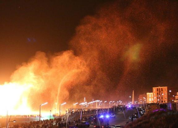 Από τη γιορτή στον εφιάλτη: Κόλαση φωτιάς στο Σεβενίνγκεν