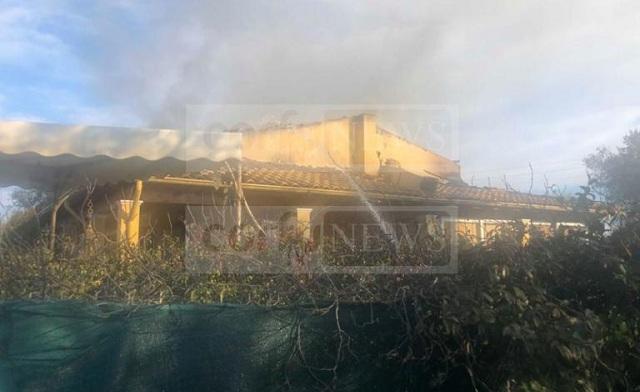 Κέρκυρα: Κάηκε ζωντανή λίγο μετά την έλευση του 2019 [εικόνες]