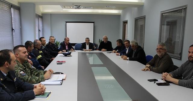 Έκτακτη σύσκεψη στην Περιφέρεια Θεσσαλίας ενόψει των έντονων καιρικών φαινομένων