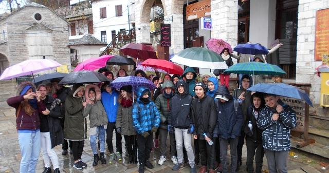 Επίσκεψη της περιβαλλοντικής ομάδας του 1ου Γυμνασίου Βόλου στο ΚΠΕ Μακρινίτσας