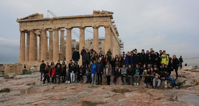 Εκπαιδευτική εκδρομή μαθητών του 1ου Γυμνασίου Βόλου στην Αθήνα